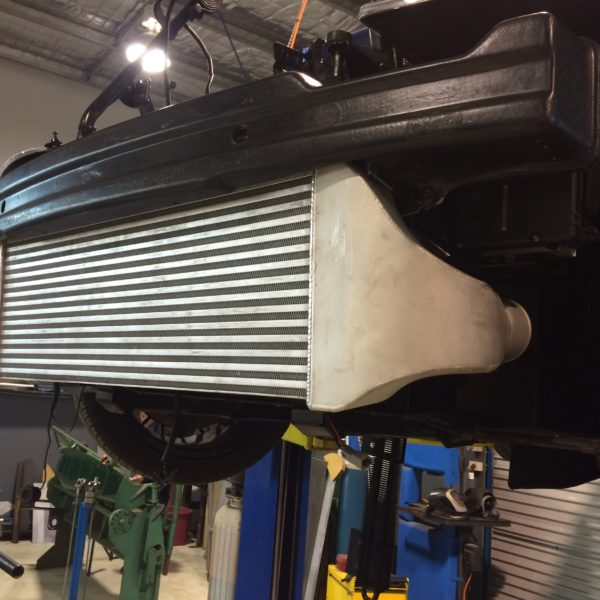 large custom front mount intercoolers radiators launceston